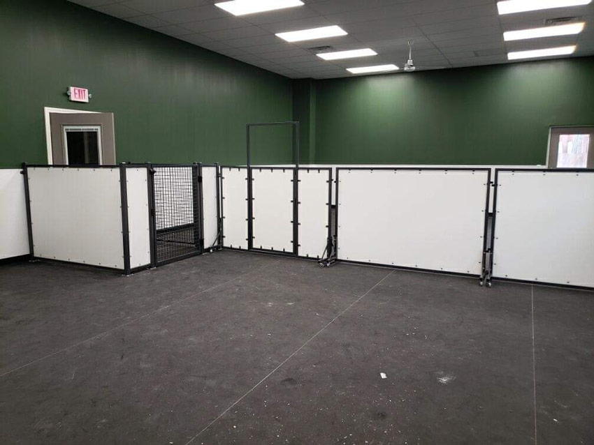 Room Dividers & Entry Chutes